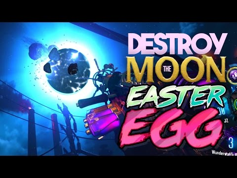 BLACK OPS 3 ZOMBIES: DESTROY THE MOON EASTER EGG! (THE GIANT)
