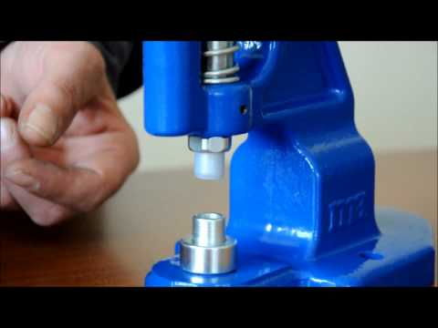 Micron TEP-1 Grommet Attaching machine Tubular Rivet Installation