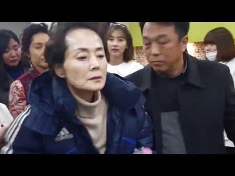 [풀영상] 故김영애 마지막 촬영현장...