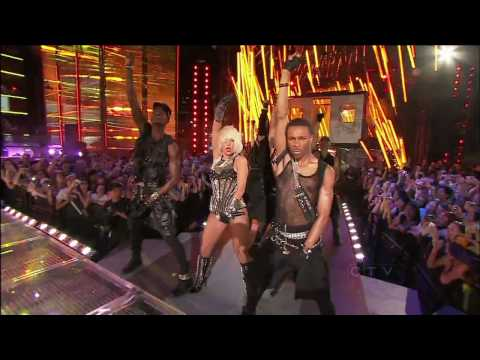 [HD] Lady GaGa - Love Game & Poker Face [Live @ Much Music Awards 2009] 720p