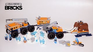 Lego City 60195 Arctic Mobile Exploration Base Lego Speed Build