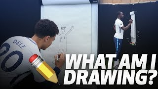 ✏️ WHAT AM I DRAWING?   ft. DELE ALLI, SERGE AURIER, MOUSSA SISSOKO AND JUAN FOYTH