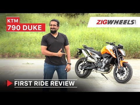 KTM 790 Duke First Ride Review, Performance, Exhaust, Top Speed, Price in India