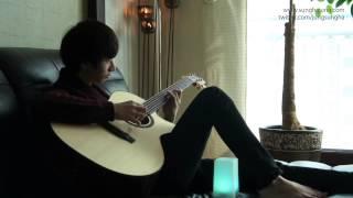 (Original) Gravity - Sungha Jung (Bariton Guitar)