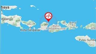 BREAKING NEWS: Gempa Berkekuatan 7 SR Guncang Lombok