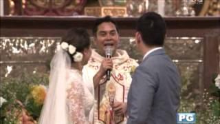 WATCH: Maya and Sir Chief's wedding kisses