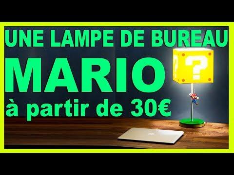 Lampe de Bureau Super Mario Bros à 30 euros  Nintendo Collection #Unboxing