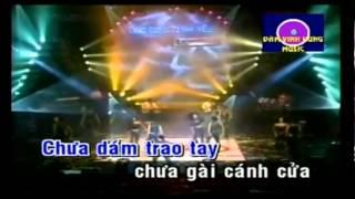 [karaoke] Dam Vinh Hung - Tinh Yeu Khong Loi - Tình yêu không lời