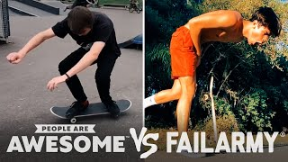 Smooth Vs. Painful Skateboarders & More! | PAA Vs. FailArmy