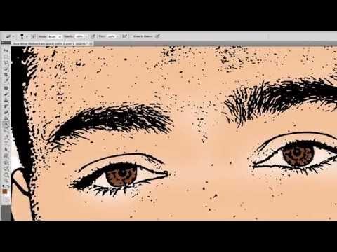 Photoshop CS5 - Cartoon Vector Effect