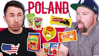 American Guys Try Weird Polish Food for the First Time