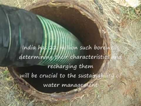 Determining recharge rates for borewells in South