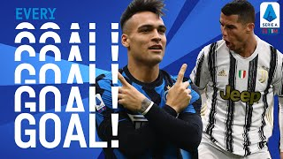 Ronaldo scores 2 headers and Inter win the Milano Derby! | EVERY Goal | Round 23 | Serie A TIM