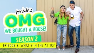What's in the Attic? | OMG We Bought A House!