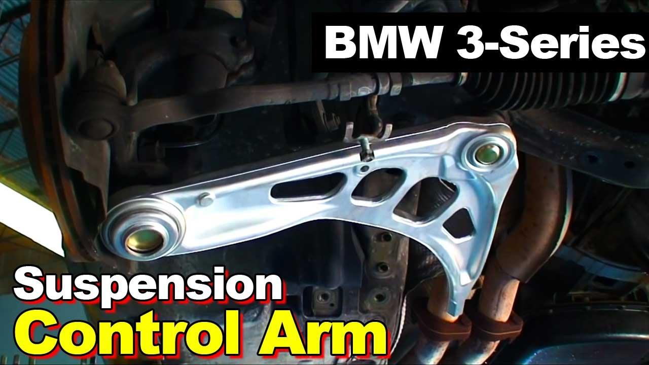2005 Bmw E46 3 Series Control Arm Replacement Youtube