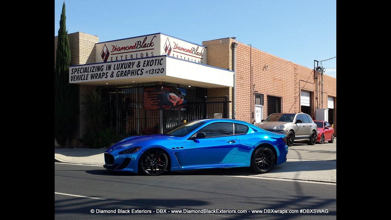 Project Maserati Granturismo Mc Wrapped In Avery Blue
