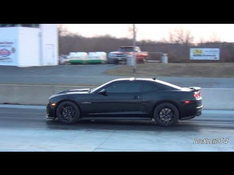 Breaking In The New Camaro ZL1 At The Strip - Smashpipe Autos