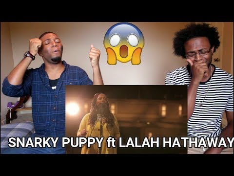 Snarky Puppy feat. Lalah Hathaway - Something (Family Dinner - Volume One) (REACTION)