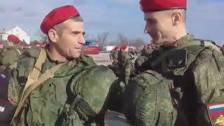 За отказ ехать в Сирию чеченских военных уволили со службы