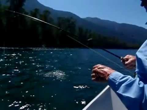 Fly Fishing Lakes District Chile near Puerto Montt