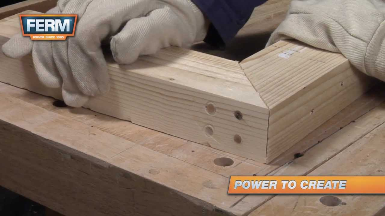 How To Create A Strong Mitre Joint Youtube
