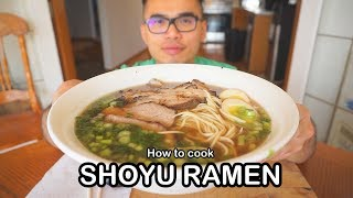 How to cook SHOYU RAMEN しょうゆラーメン