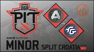 Alliance vs Forward Gaming / Bo3 / OGA Dota PIT Minor 2019  / Dota 2 Live