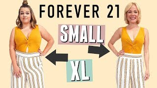 Size 4 & Size 12 Try on the Same Outfits from Forever 21!