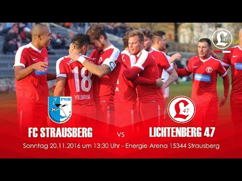 FC Strausberg - SV Lichtenberg 47 (NOFV-Oberliga Nord) - Spielszenen | SPREEKICK.TV