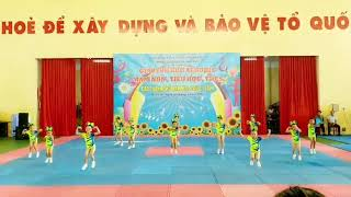 Giải aerobic mầm non thành phố Bảo Lộc 2021