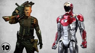 Top 10 Superhero Tech