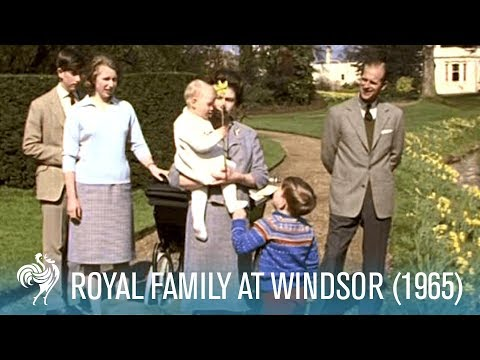Royal Family At Windsor: Queen Elizabeth II & Prince Philip (1965) | British Pathé