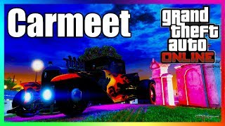 🔴 GTA 5 ONLINE LATE HALLOWEEN CAR MEET #6 READ DESCRIPTION COME JOIN IN XBOX ONLY