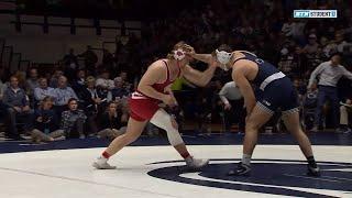 HWT: #9 Trent Hillger (Wisconsin) vs. #4 Anthony Cassar (Penn State)