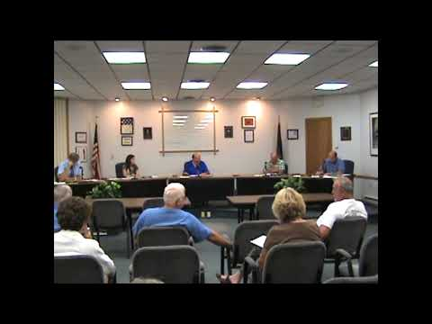 Rouses Point Village Board Meeting  8-20-12