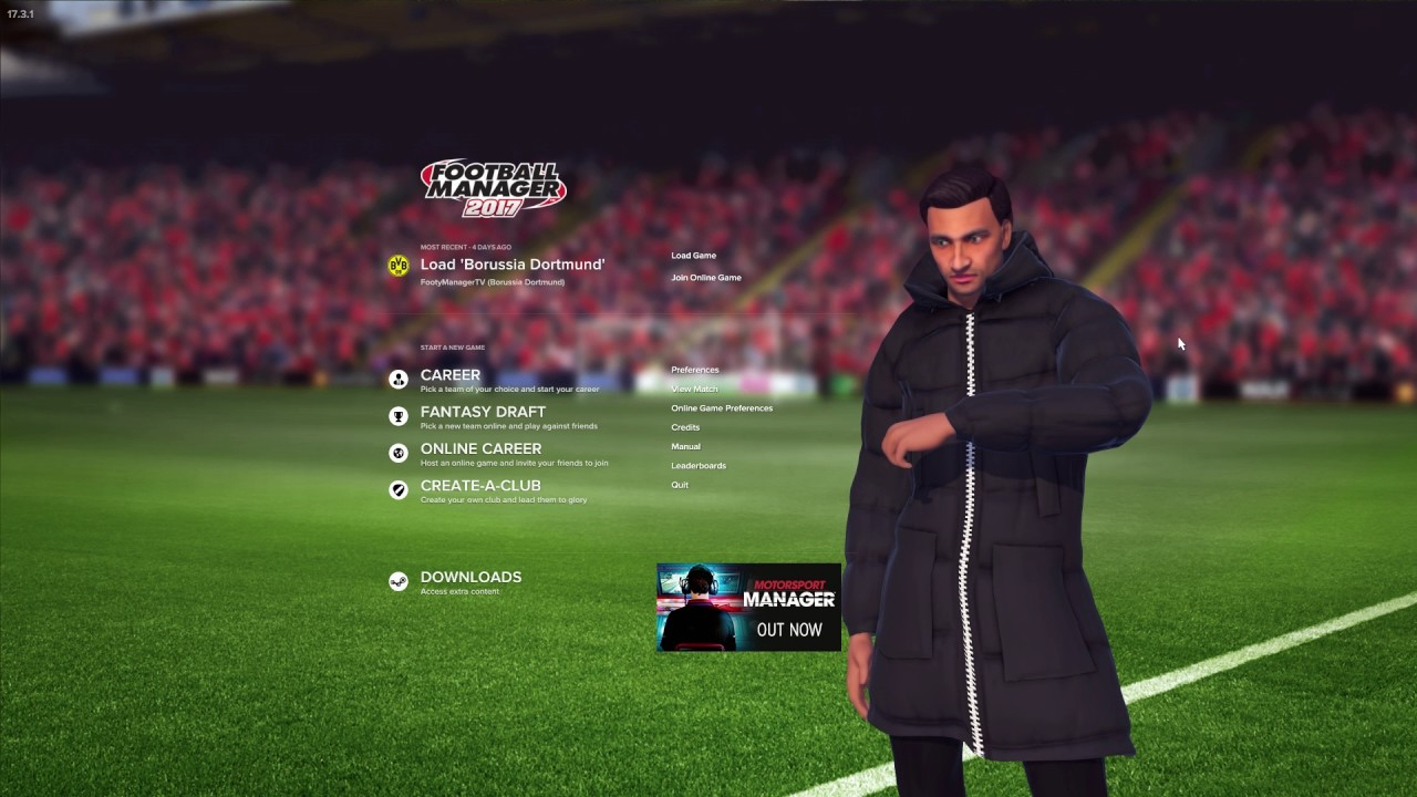 Football Manager 2017 Content Update!