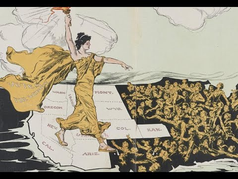 screenshot of youtube video titled Women's Suffrage Movement, Part 1 | History In A Nutshell