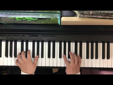 フライミートゥーザムーン Fly me to the moon→簡単なことだけしかせずにアドリブ(初心者) ソロジャズピアノ