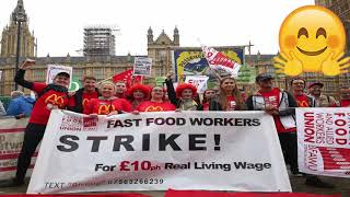 McDonald's workers get pay rises after strikes