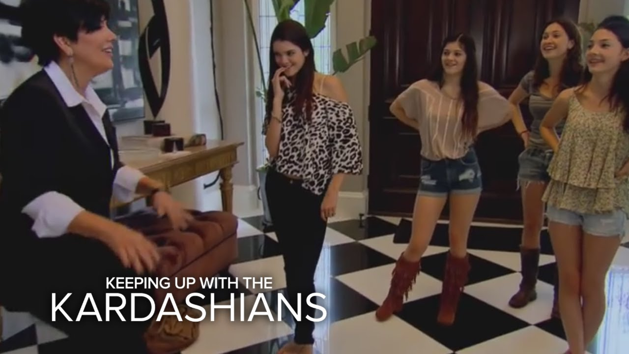 Mom Patrol | Keeping Up With the Kardashians | E! - YouTube