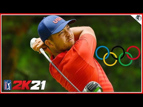 Olympic Golf Competition - Ireland Rounds 3 & 4 (PGA TOUR 2K21 Gameplay)