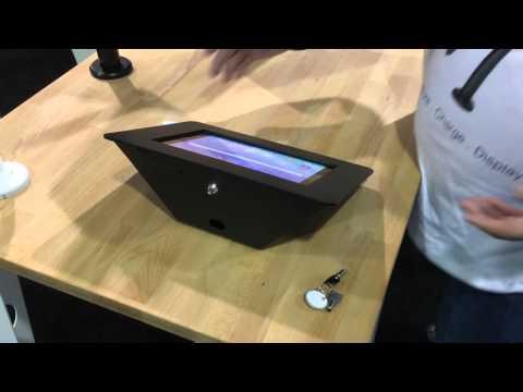 Rokku iPad Enclosure Kiosk - Premium Tablet Enclosure - Secure POE Tablet Kiosk