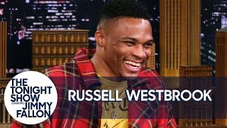 Russell Westbrook Explains the Meaning of His Rock-a-Baby Celebration Move