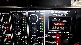 AHUJA SSA-7000 -700 WATTS High Wattage PA Mixer Amplifier REVIEW