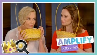 Charlize Theron and Emily Blunt Interview | The Huntsman: Winter's War