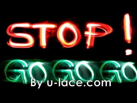 STOP STOP GO by U-Lace
