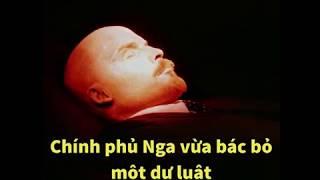 Chính phủ Nga từ chối chôn ông Lenin