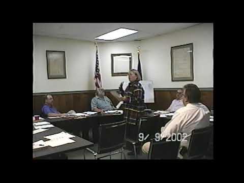 Champlain Village Board Meeting  9-9-02