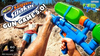 NERF GUN GAME | SUPER SOAKER EDITION 5.0 (Nerf First Person Shooter)