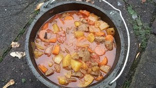 Cowboy Smoked Beef Stew